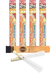 4 Packs Cyclones Pimperschnaps Flavored Pre Rolled Cones Clear with RPD Doob Tube by Cyclones