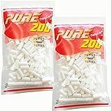 pure ピュアレギュラー 手巻きタバコ用フィルター200個入りx2パック シャグ 喫煙具