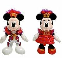 ミニー・オー!ミニー ミッキーマウス ミニーマウス ぬいぐるみバッチセット 【東京ディズニーランド限定】