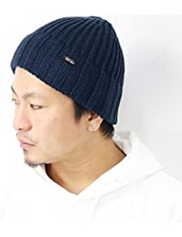 (ラカル) RACAL ニット帽 ニット ローゲージニット ニットワッチ ロゴ 日本製 秋冬