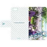 ソードアート・オンラインII 02 キービジュアル2 手帳型スマホケース iPhone6/6s/7/8兼用
