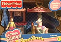 Fisher Price Loving Family Sweet Streets Carousel