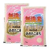 無洗米 秋田県産あきたこまち 10kg(5kg×2) 平成30年産 白米 お米