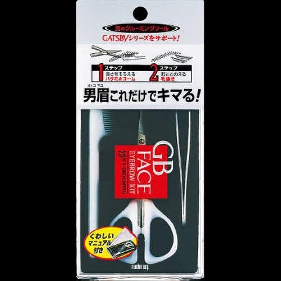 説明的地下鉄ストレス【まとめ買い】ギャツビー メンズアイブローキット ×2セット