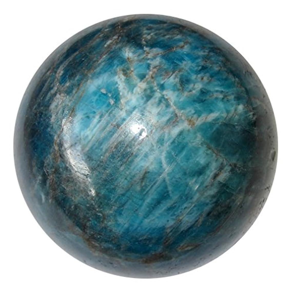 実験セメント千アパタイトボール64ブルーSheenクリスタル健康ダイエットバランスライフスタイルクリスタルエネルギー球2