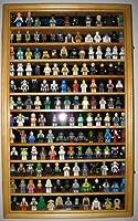 LEGOミニフィギュアミニチュアFigures表示ケース壁Curioキャビネット オレンジ CDHW11-OA
