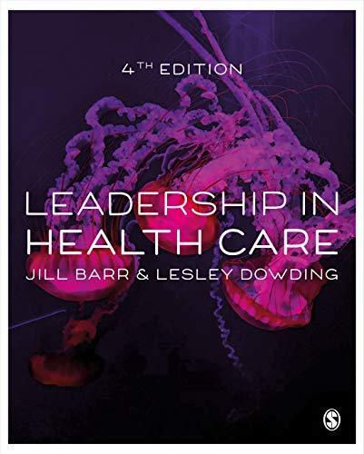 Leadership in Health Care (English Edition)