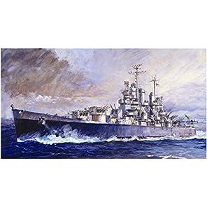ピットロード 1/700 スカイウェーブシリーズ アメリカ海軍 軽巡洋艦 CL-55 クリーブランド プラモデル W208