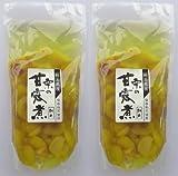 熊本県産の手造り甘露煮 栗の甘露煮(割れ) 2袋組