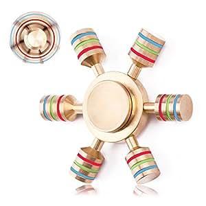 Iextreme ハンドスピナー 民族 おもちゃ 最強指スピナー Hand Spinner 高速回転 3〜6分平均スピン ストレス解消 大人 子供