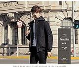 ダウンジャケット メンズ ダウンコート メンズ コート 無地 防寒 防風 ダウン ジャンパー ビジネス アウター 大きいサイズ アウトドア 秋 冬 黒 L