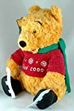 Winnie the Pooh Winter 2000 Wearing Ice Skates and Green Scarf by Disney 13