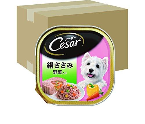 ジャパン リミテッド シーザー 成犬用 絹ささみ 野菜入り 100g×96個 ケース販売