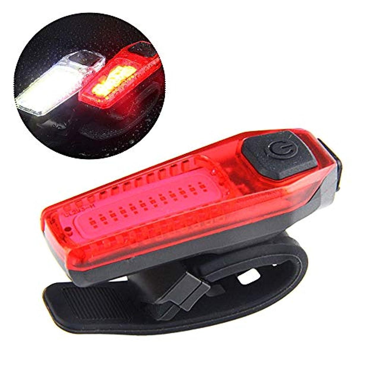 はねかける以下肥料USB充電式バイクテールライト-非常に明るいLED自転車のリアライト、パワフルな赤いバックライト付き、サイクリング安全懐中電灯-耐水性