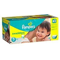 Pampers Swaddlers Diapers Size 5, 92 Count by Pampers