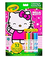 Crayola Hello Kitty Coloring & Activity Pad for Girls 7マーカー含ま