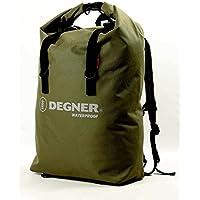 デグナー(DEGNER) マルチレインバッグ ポリエステル・PVC 50x34x18cm 30L カーキ NB-12 …