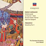 Rimsky-Korsakov: Scheherazade Le Coq D'or: Suite R