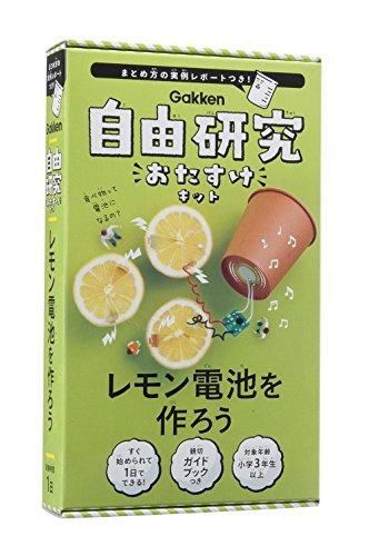 レモン電池を作ろう (自由研究おたすけキット)
