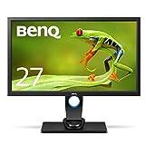 BenQ カラーマネージメントモニター ディスプレイ SW2700PT 27インチ/WQHD/IPS/DisplayPort,HDMI,DVI搭載/遮光フード付