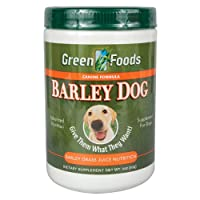 海外直送品Green Foods Corporation Barley Dog, 11 Oz