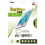 iPad Pro 9.7インチ 用 液晶保護フィルム 光沢 気泡レス加工 TBF-IP16FLK
