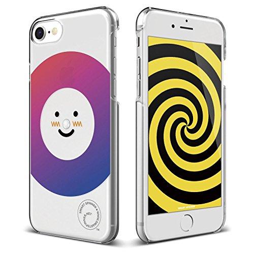 iPhone8 / iPhone7 ケース elago Smart Spinner [ iPhoneがスピナーに大変身 !? まるで ハンドスピナー !? ] おもしろ デザイン カバー [ iPhone8ケース / iPhone7ケース ] ノエル