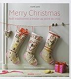 MANGO 「Merry christmas」 クロススタッチ作品・図案集-フランス語