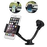 JX-SHOPPU 車載用スタンド ホルダースマートフォンやタブレットで使える 車載ホルダースマホ iPhone 吸盤 7インチまで対応可能