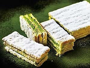 <パブロ> 宇治抹茶 チーズミルフィーユ_ 焼きたてチーズタルト専門店PABLO