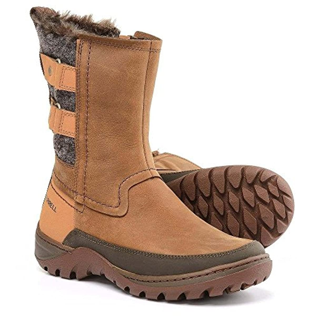 誘発する間違えた旧正月(メレル) Merrell レディース シューズ?靴 ブーツ Sylva Mid Buckle Winter Boots - Waterproof, Insulated [並行輸入品]