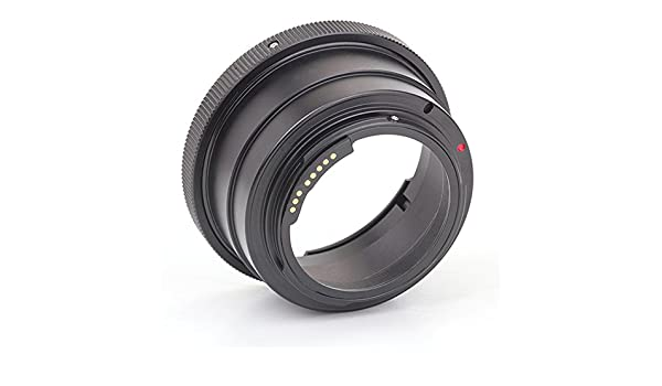 5D Mark III ,7D Mark II 1300D T6s//8000D 80D T6//X80 Kiev 60 Pentacon 6 Lens to Canon EOS Camera Canon 5D Mark IV T6i//X8i 750D 760D 5DS R Pixco GE-1 AF Confirm Lens Mount Adapter