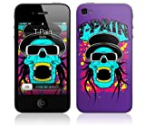 Music Skins iPhone 4用フィルム T-Pain – Skully iPhone 4 MSIP4G0223
