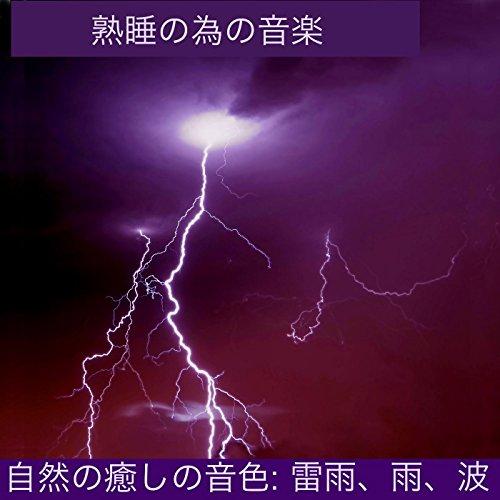 自然の癒しの音色: 雷雨、雨、波