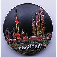 3d冷蔵庫マグネット、お土産、上海中国