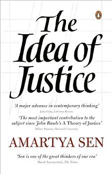 The Idea of Justice by [Sen, Amartya]