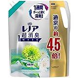 レノア 超消臭1WEEK 柔軟剤 フレッシュグリーン 詰め替え 約4.5倍(1790mL)