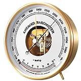 佐藤計量器(SATO) 気圧計 温度計付 アネロイド式