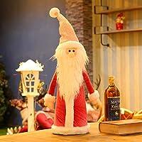サンタ クロース 置物,クリスマス 装飾 ぬいぐるみ人形 クリスマス テーブル装飾 伝統的な装飾品 コレクティブル・フェスティバル ギフト-c 22x66cm(9x26inch)