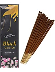 Pari Black Gold Incense Stick 120g ,75 Stick approx .(Pack of 2)