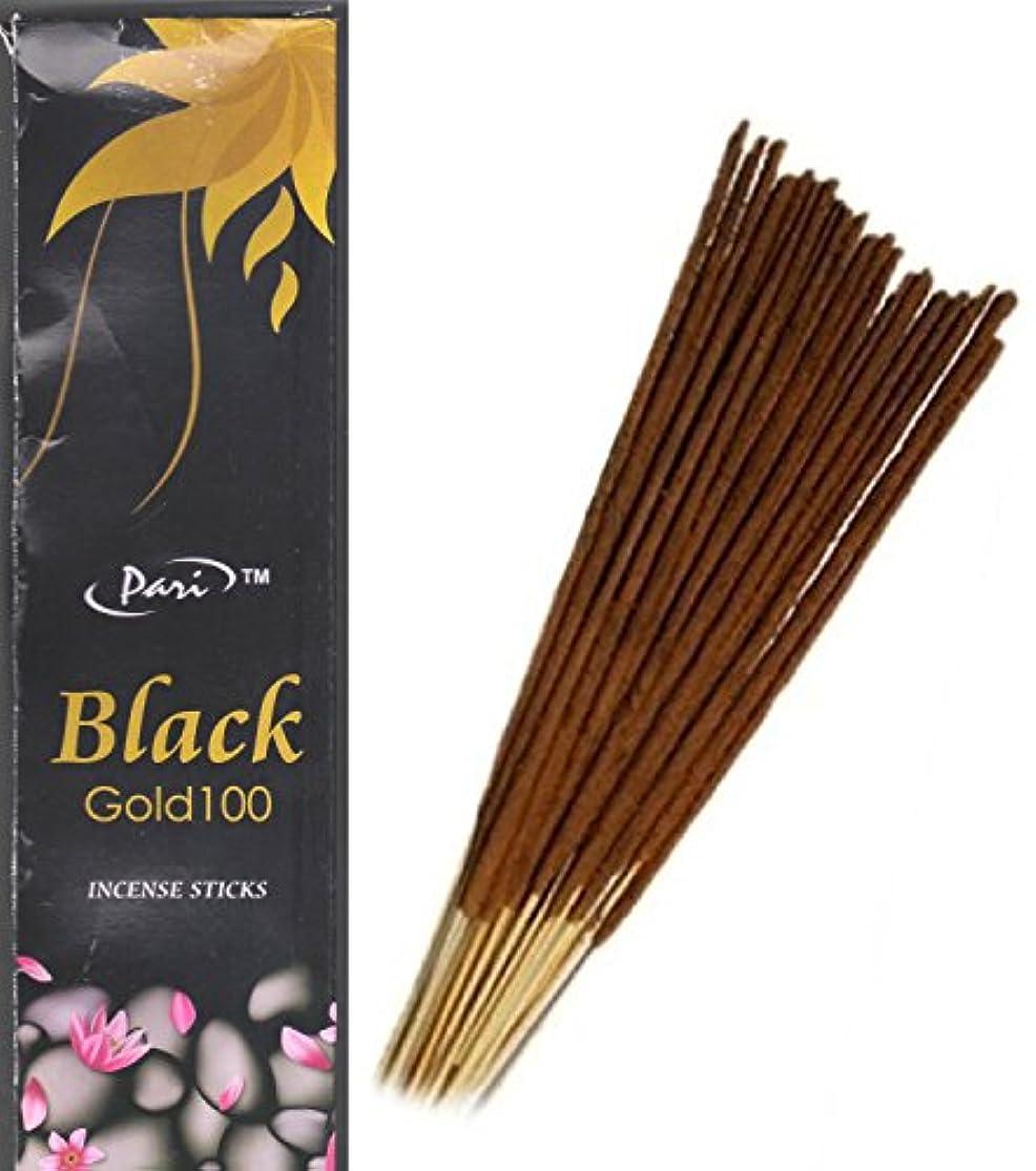 貫通する根拠支配的Pari Black Gold Incense Stick 120g ,75 Stick approx .(Pack of 2)