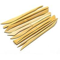 木製クレーナイフ 粘土細工 陶芸 工芸 粘土彫刻道具
