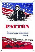 映画の金属看板 ティンサイン ポスター / Tin Sign Metal Poster of Movie Patton #3