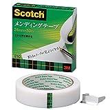 3M スリーエム セロテープ スコッチ メンディングテープ 紙箱入り 24mm×50m 芯76mm 810-3-24