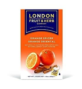 ロンドンフルーツ&ハーブ ティーバッグ オレンジスパイサー 20袋