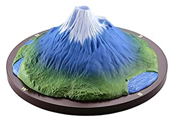 海洋堂 モリナガ・ヨウの立体図解 富士山 ノンスケール ポリストーン製 塗装済み完成品フィギュア