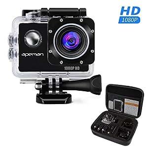Amazon | APEMAN アクションカメラ アクションカム スポーツカメラ ...