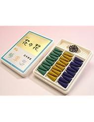 【日本香堂 お香】 特製花の花 コーン型30個入