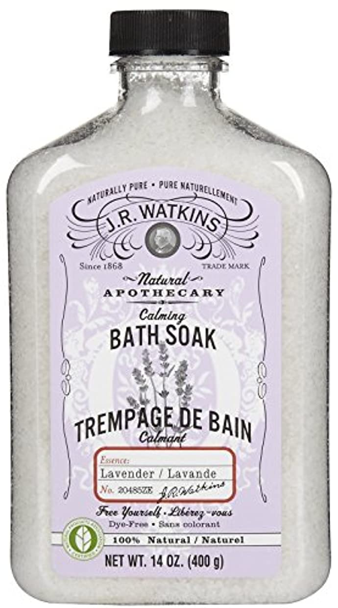 伝染病排泄する会話J.R.Watkins Bath Soak バスソルト[ラベンダー]