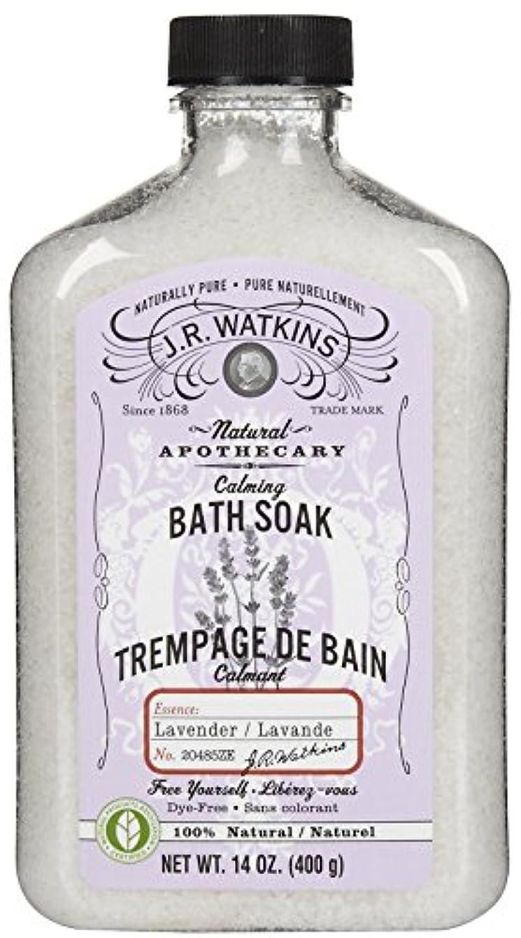 なかなか歴史家やりがいのあるJ.R.Watkins Bath Soak バスソルト[ラベンダー]